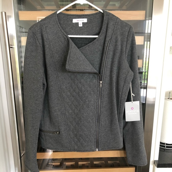 Athleta Jackets & Blazers - Athleta Moto Jacket